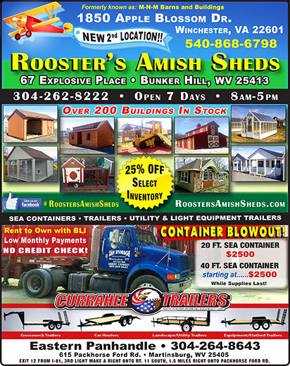 Roosters Amish Sheds